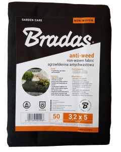 50g NON WOVEN WEED MEMBRANE 3.2m x 5m
