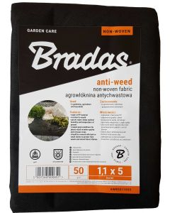 50g NON WOVEN WEED MEMBRANE 1.1m x 5m