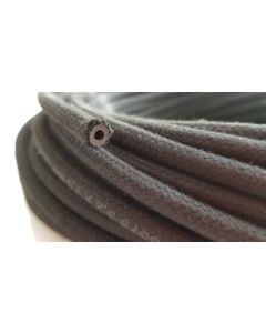 Rubber Reinforced with a heat resistant textile braid 4mm/9mm