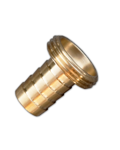 "Brass adaptor 1"" BSPM- 19MM"