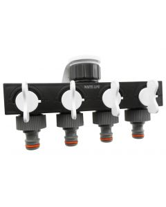 4-WAY SPLITTER WITH VALVES