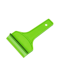 Scraper with squeegee