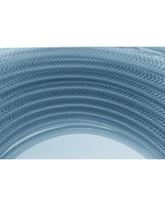 BRAIDED CLEAR PVC 1m 10*2 15/60BAR 100m coil