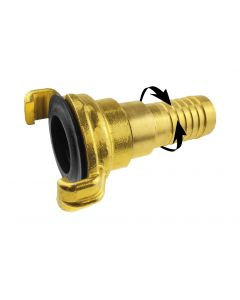 "Geka brass - swivel 1"" hose"