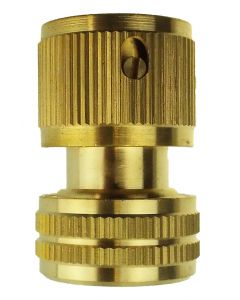 HOSE CONNECTOR SNAP ON FEMALE BRASS 1/2 HOSE