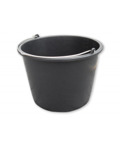 BLACK PP BUCKET 20L