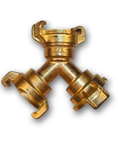 Geka brass - 3 way connector