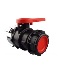 IBC TANK VALVE 75MM INLET TO S60X6 - ETFE