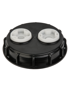IBC TANK LID 155MM WITH 2 VENTS
