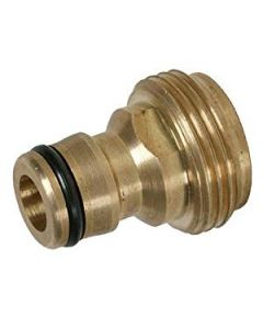 "TAP CONNECTOR SNAP ON MALE - 3/4"" BSPM BRASS"