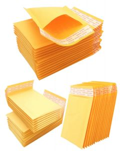 PADDED BUBBLE ENVELOPES 21X25CM