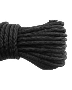 Bungee rope black 6mm 20m coils