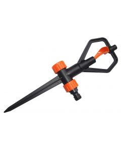 Rotary Butterfly lawn sprinkler on spike ECO LINE