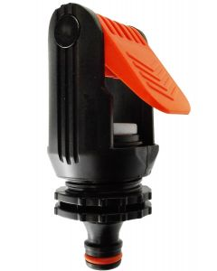 """KITCHEN TAP ADAPTOR """"NON BRANDED"""" RED"""