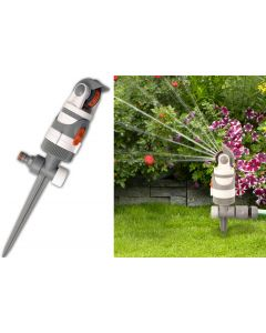 4 - pattern gear drive sprinkler WHITE LINE