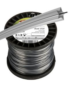 Strimmer line RIPPER DUAL, star 2.4mm x 2.5KG (641m)  spool